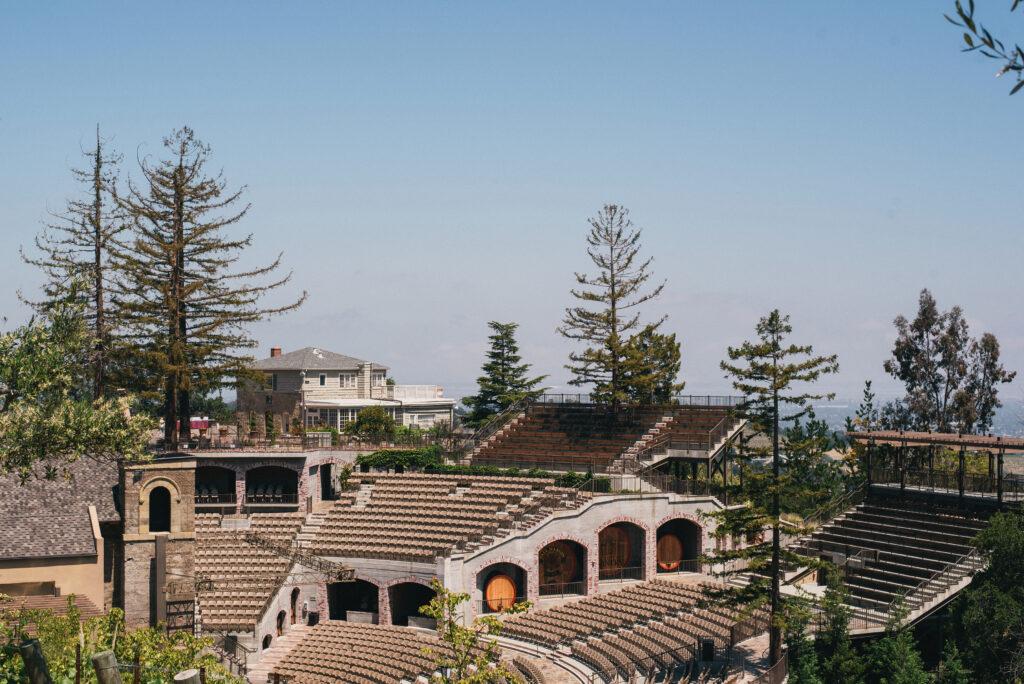 Mountain Winery in Saratoga CA
