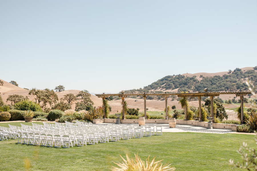 Clos LaChance Winery ceremony site
