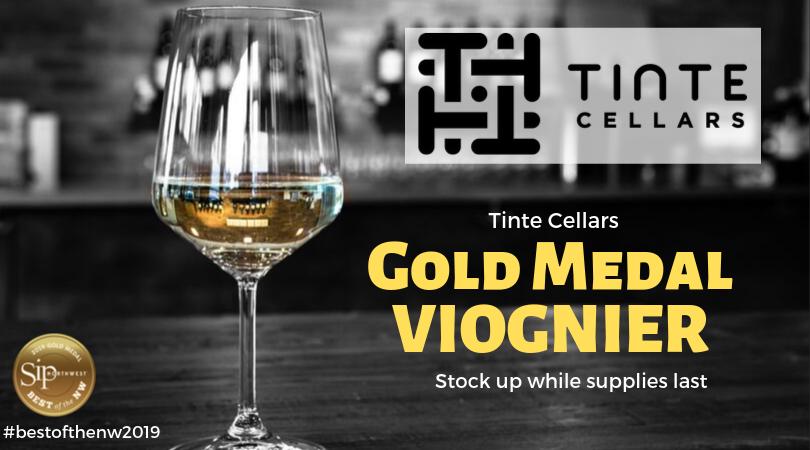 Gold Medal Viognier!