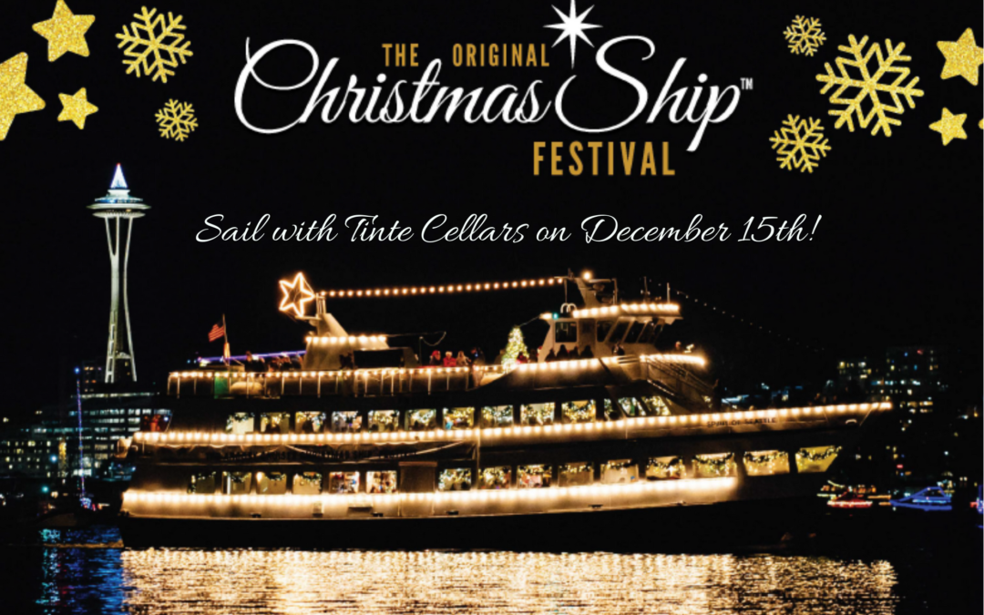 """Christmas Ship Festival"" Dinner Cruise with Tinte Cellars"