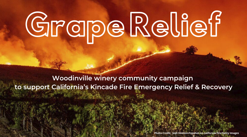 Join Tinte Cellars in Grape Relief, from November 1-10!