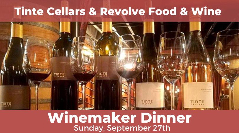 Winemaker Dinner at Revolve Food & Wine