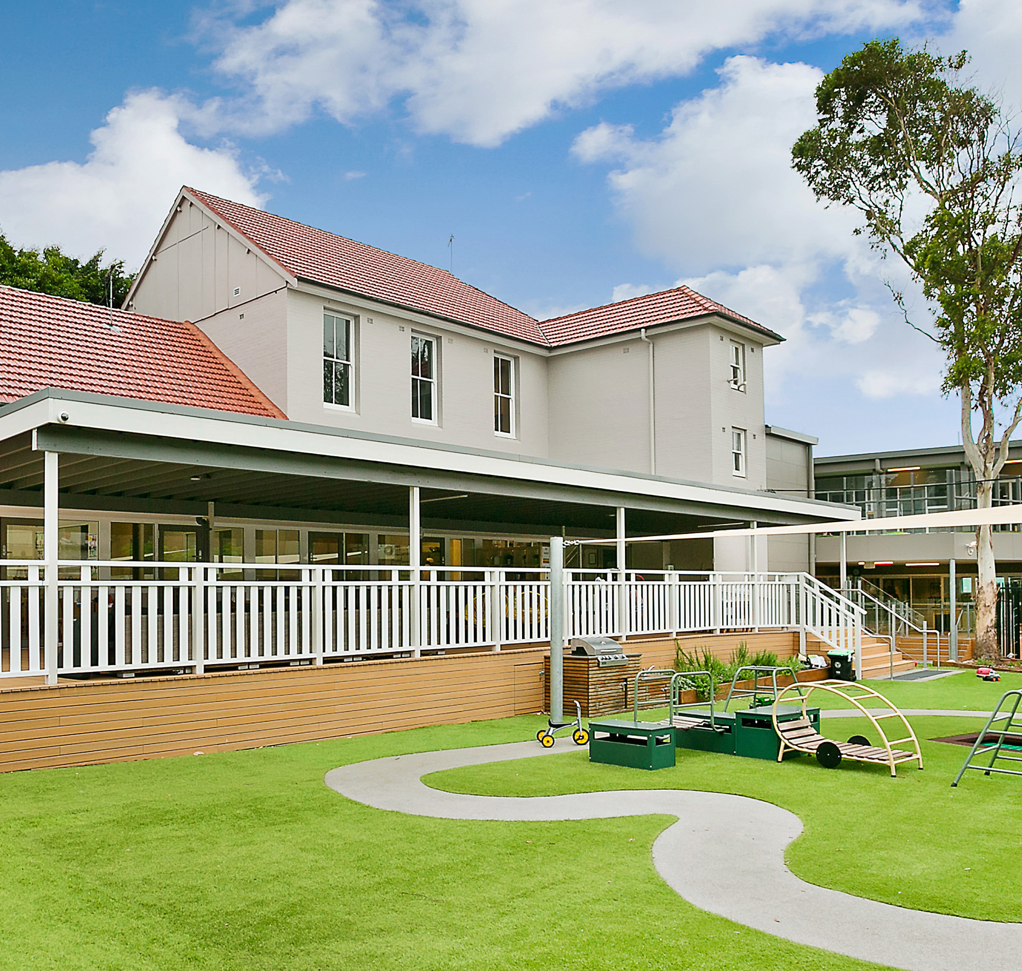 Only About Children Surry Hills Exterior Architecture and Play Area – Gardner Wetherill GW 04