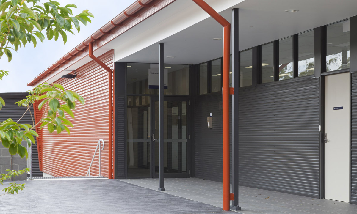 Ausgrid Ku-ring-gai Pole Storage Deport Warehouse Exterior Architecture – Gardner Wetherill GW 2
