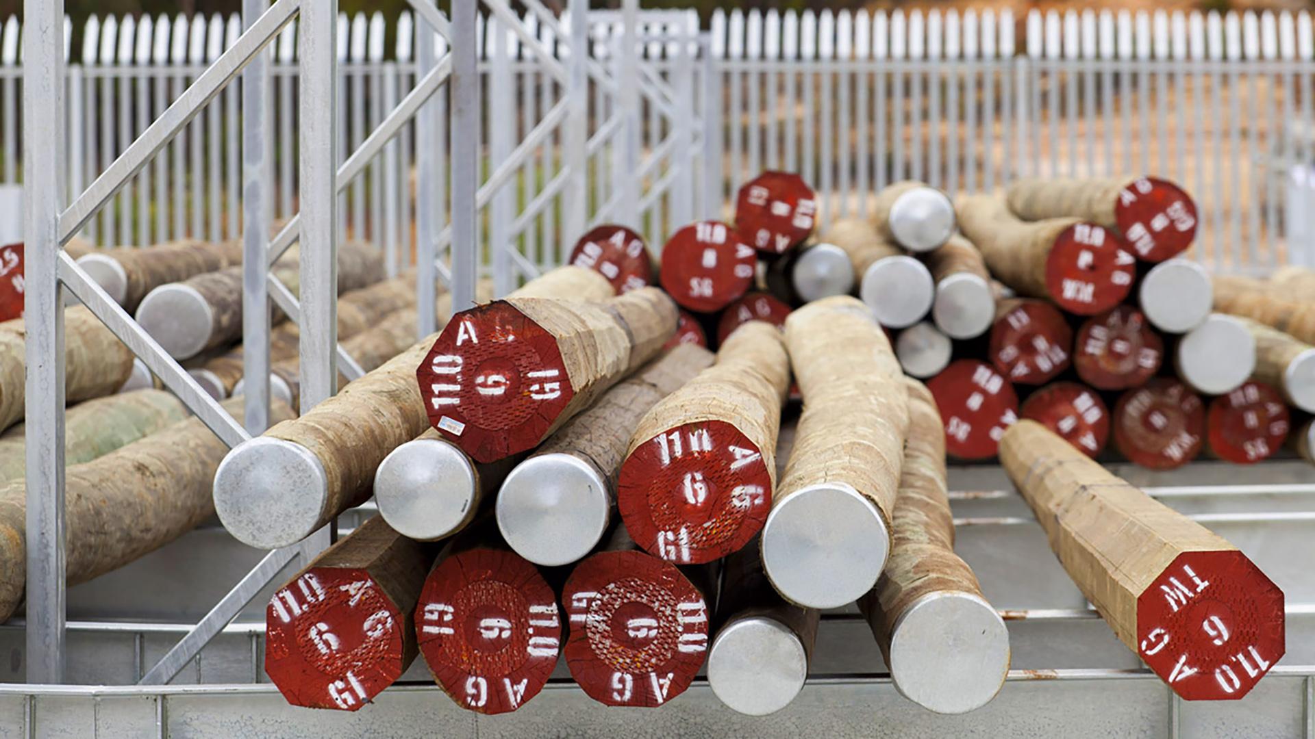 Ausgrid Ku-ring-gai Pole Storage Deport Warehouse Poles – Gardner Wetherill GW 1