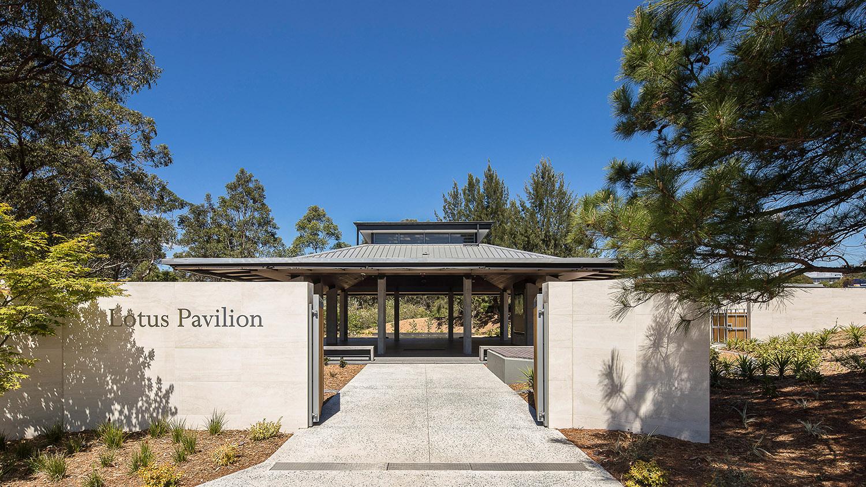 Lotus Pavilion Macquarie Park Cemetery Community Architecture Entry – Gardner Wetherill GW 5