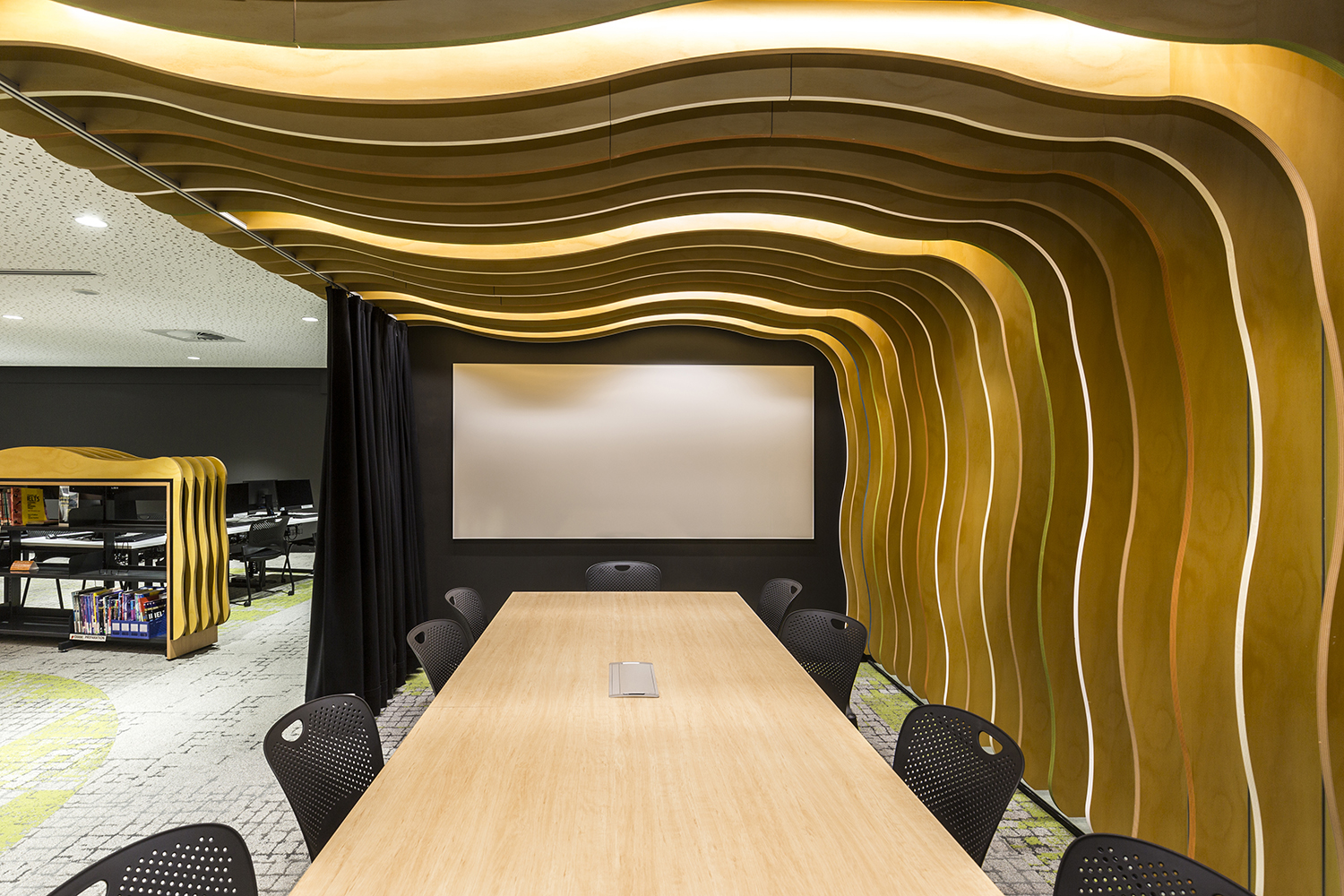 Macquarie University International College Independent Learning Centre Meeting Space – Gardner Wetherill GW 4