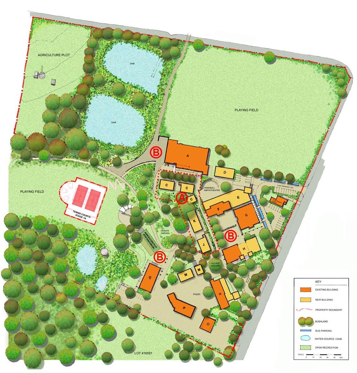 Northholm Grammar School Master Plan – Gardner Wetherill GW 1