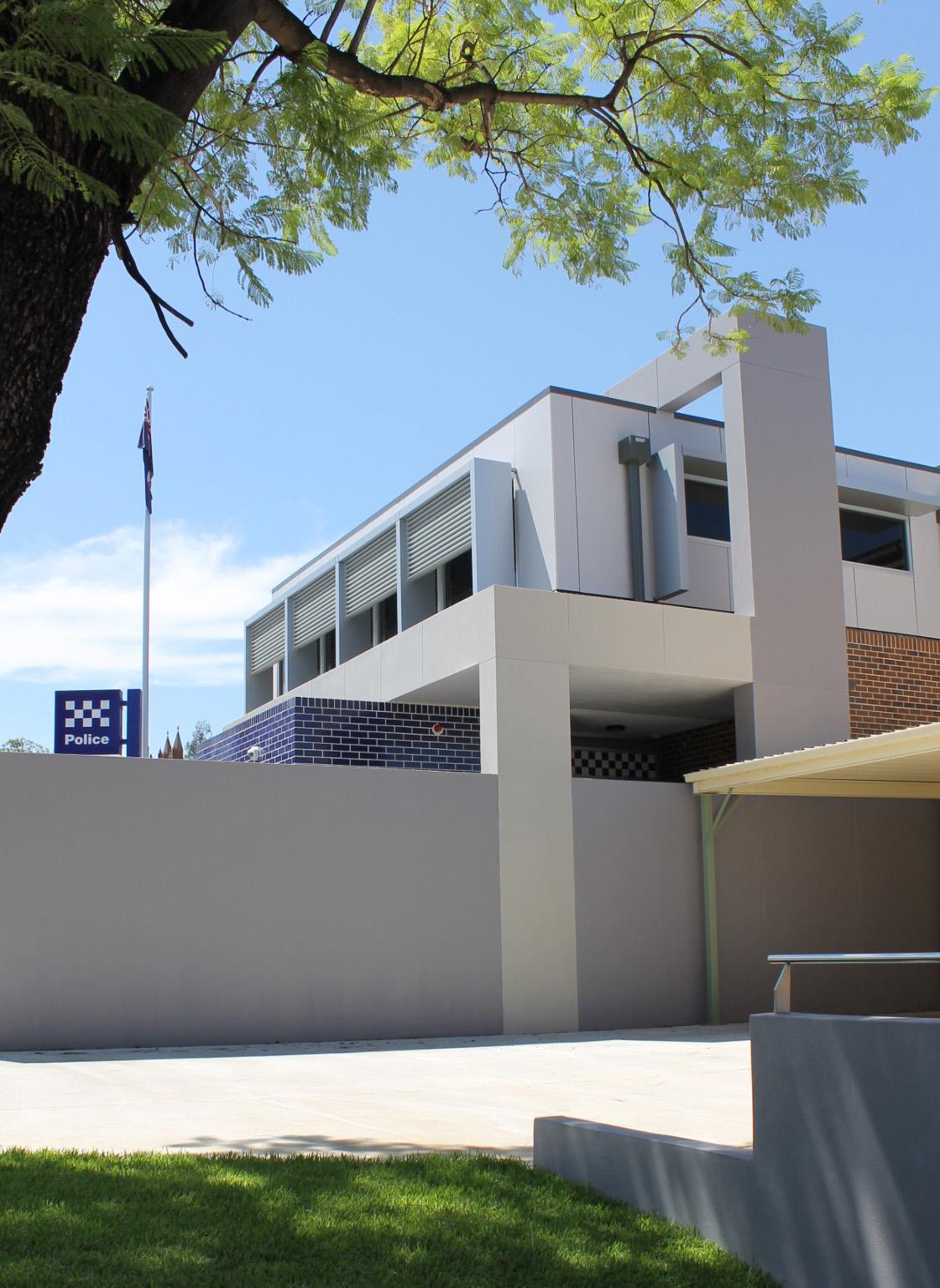 Parkes Police Station Exterior Architecture – Gardner Wetherill GW 2