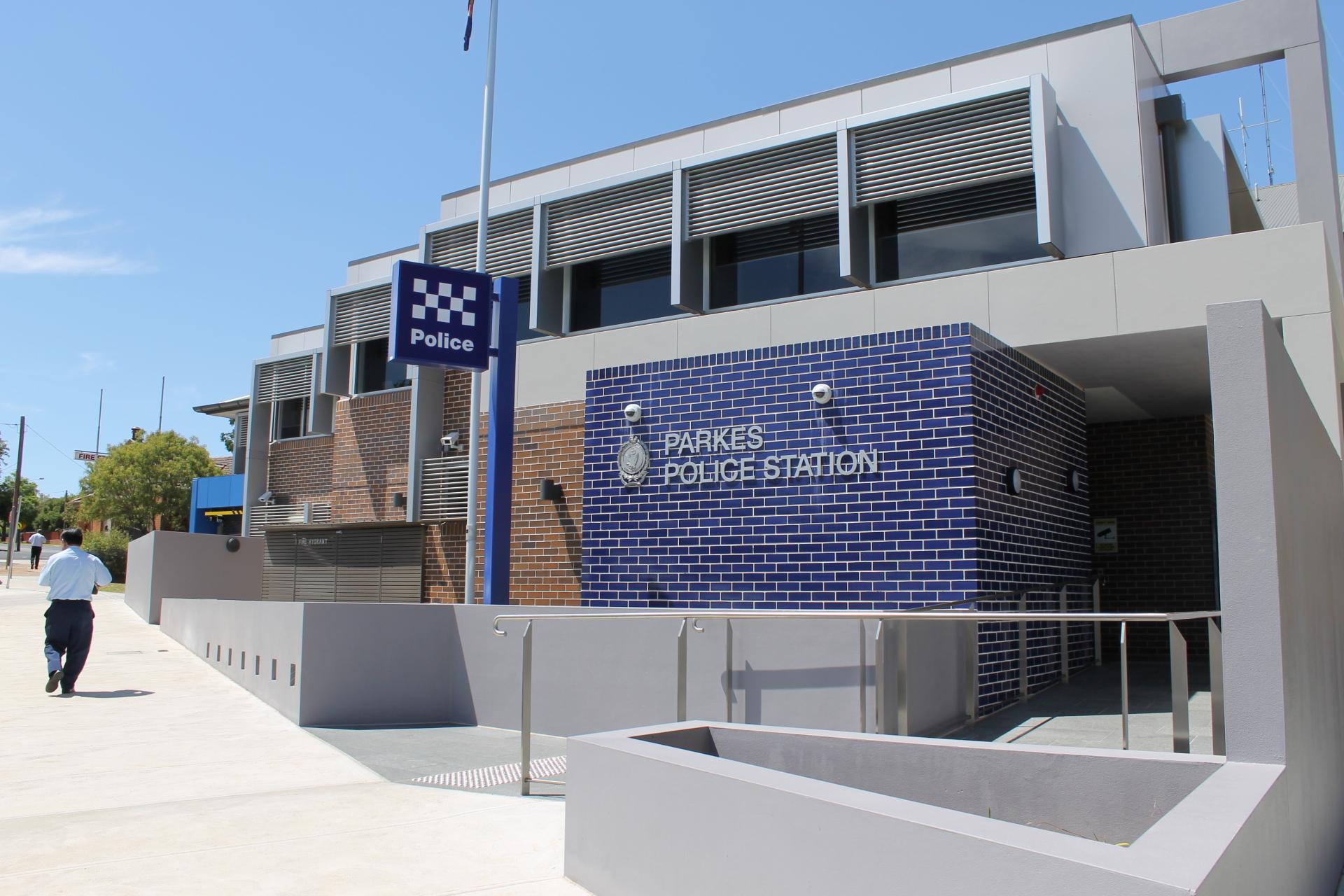Parkes Police Station Exterior Facade – Gardner Wetherill GW 1