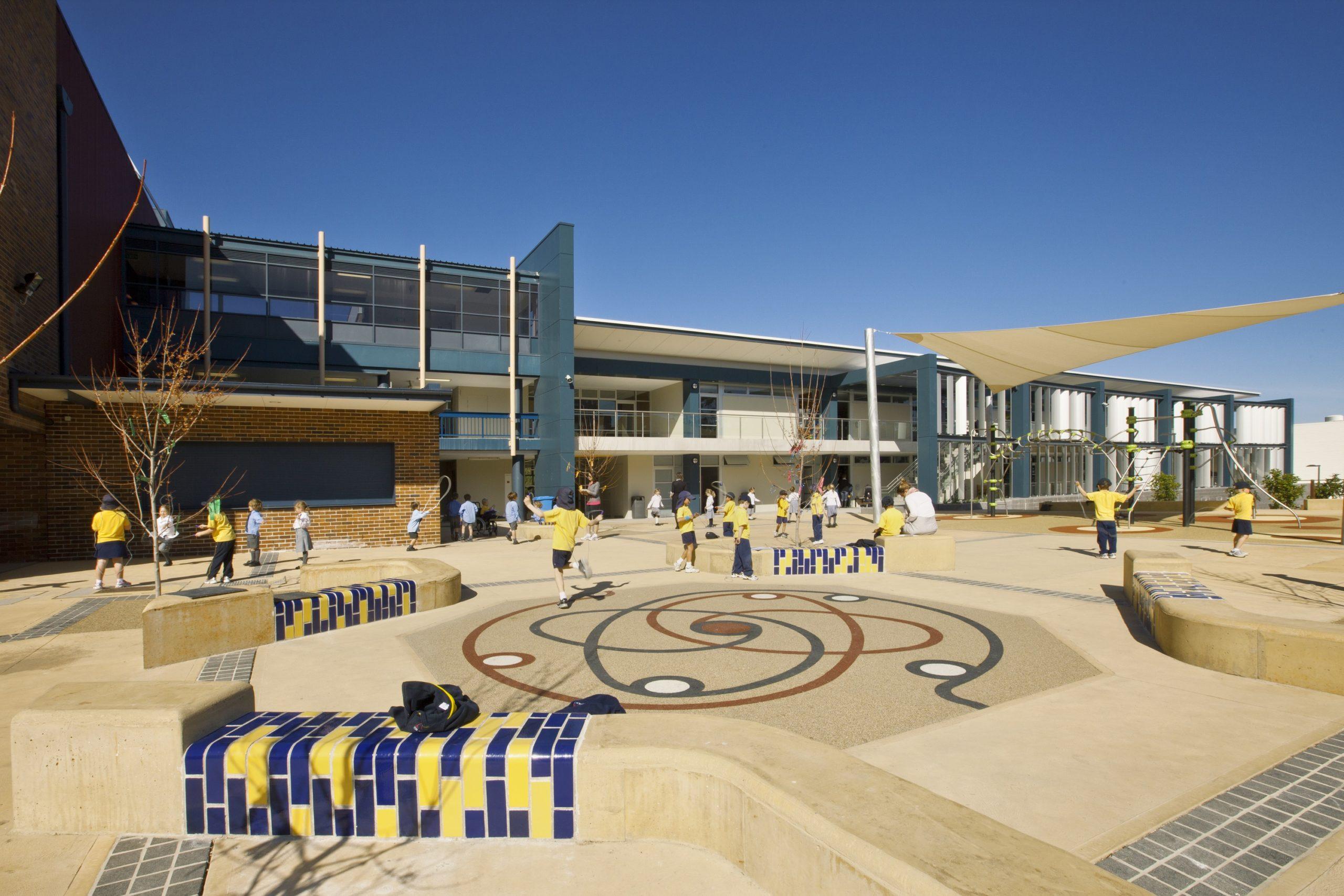 Redlands Preparatory School Courtyard and Play Area – Gardner Wetherill GW 3