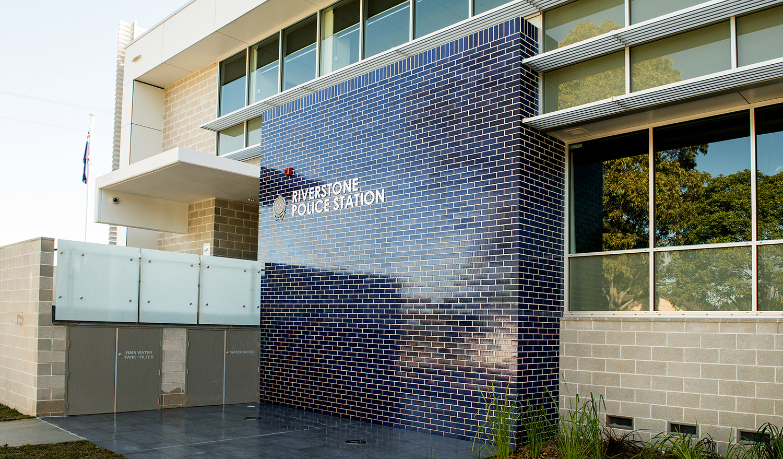 Riverstone Police Station Exterior Architecture and Brickwork – Gardner Wetherill GW 2