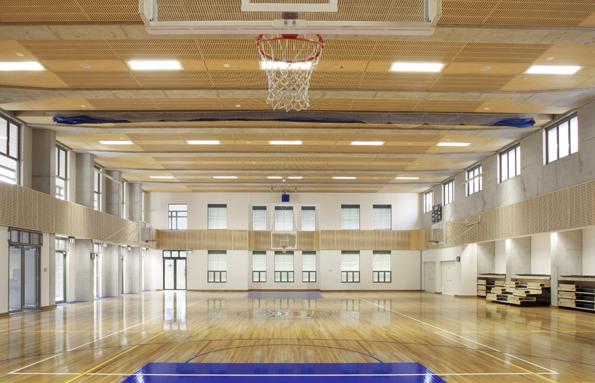 St Aloyisus College Sporting Facilities Gymnasium and Sports Hall – Gardner Wetherill GW 1