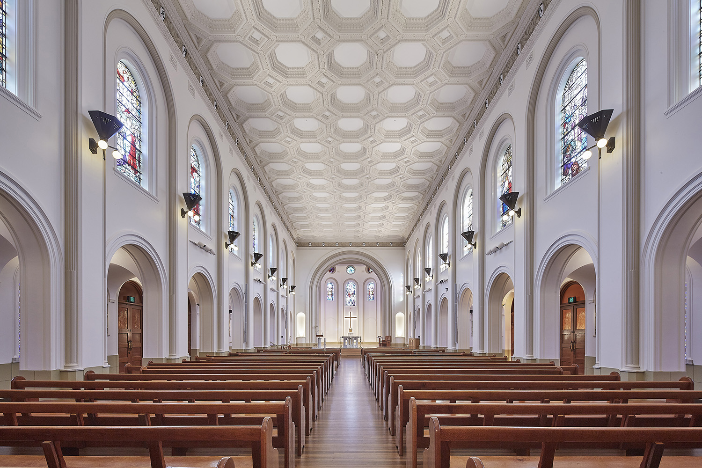 St Josephs College Chapel Architectural Refurbishment Hall Interior Design – Gardner Wetherill GW 1