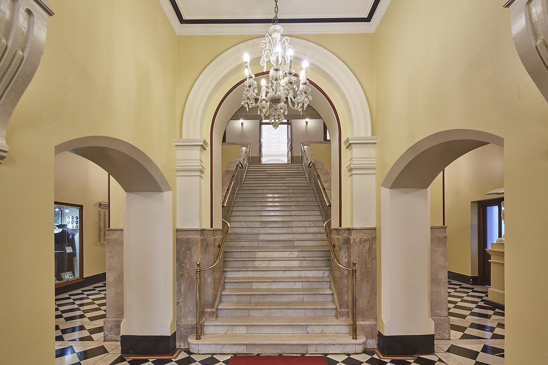St Josephs College Chapel Architectural Refurbishment Stairway Interior Design- Gardner Wetherill GW 5