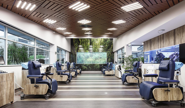 Townsville Plasma Centre Australian Red Cross Lifeblood – Donor Floor Interior Design – Gardner Wetherill GW 1