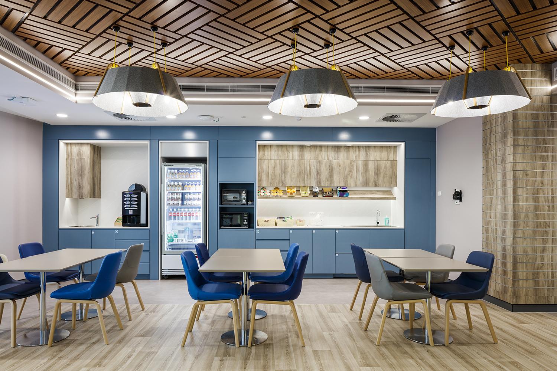 Townsville Plasma Centre Australian Red Cross Lifeblood – Refreshements Area Interior Design – Gardner Wetherill GW 1