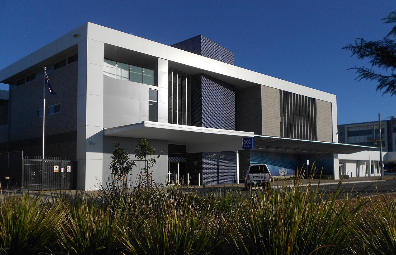 Tweed Heads Police Station Architecture Exterior Facade – Gardner Wetherill GW 1