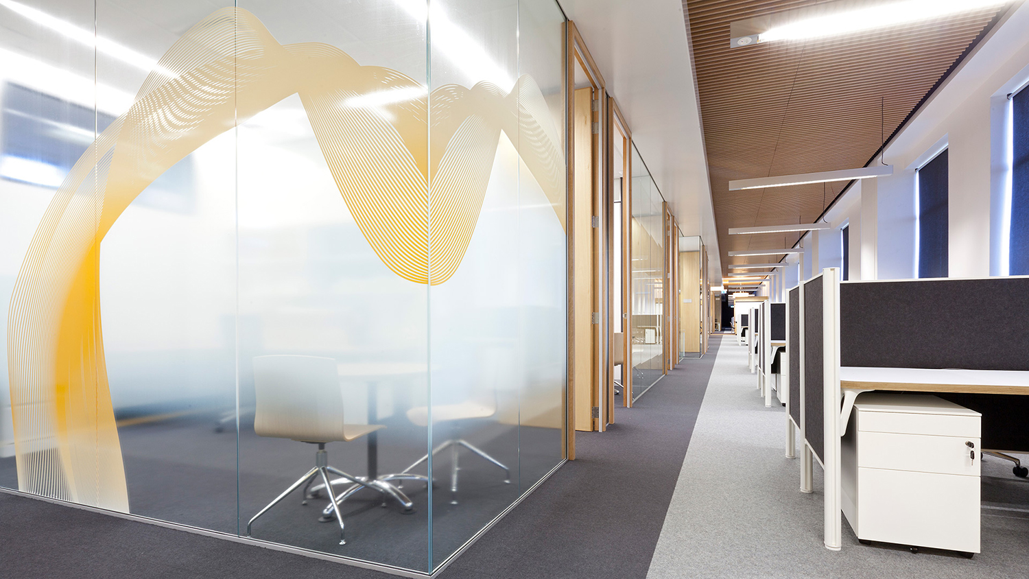 UNSW Astrophysics Work Environment – Meeting Room and Hallway – Gardner Wetherill GW 5