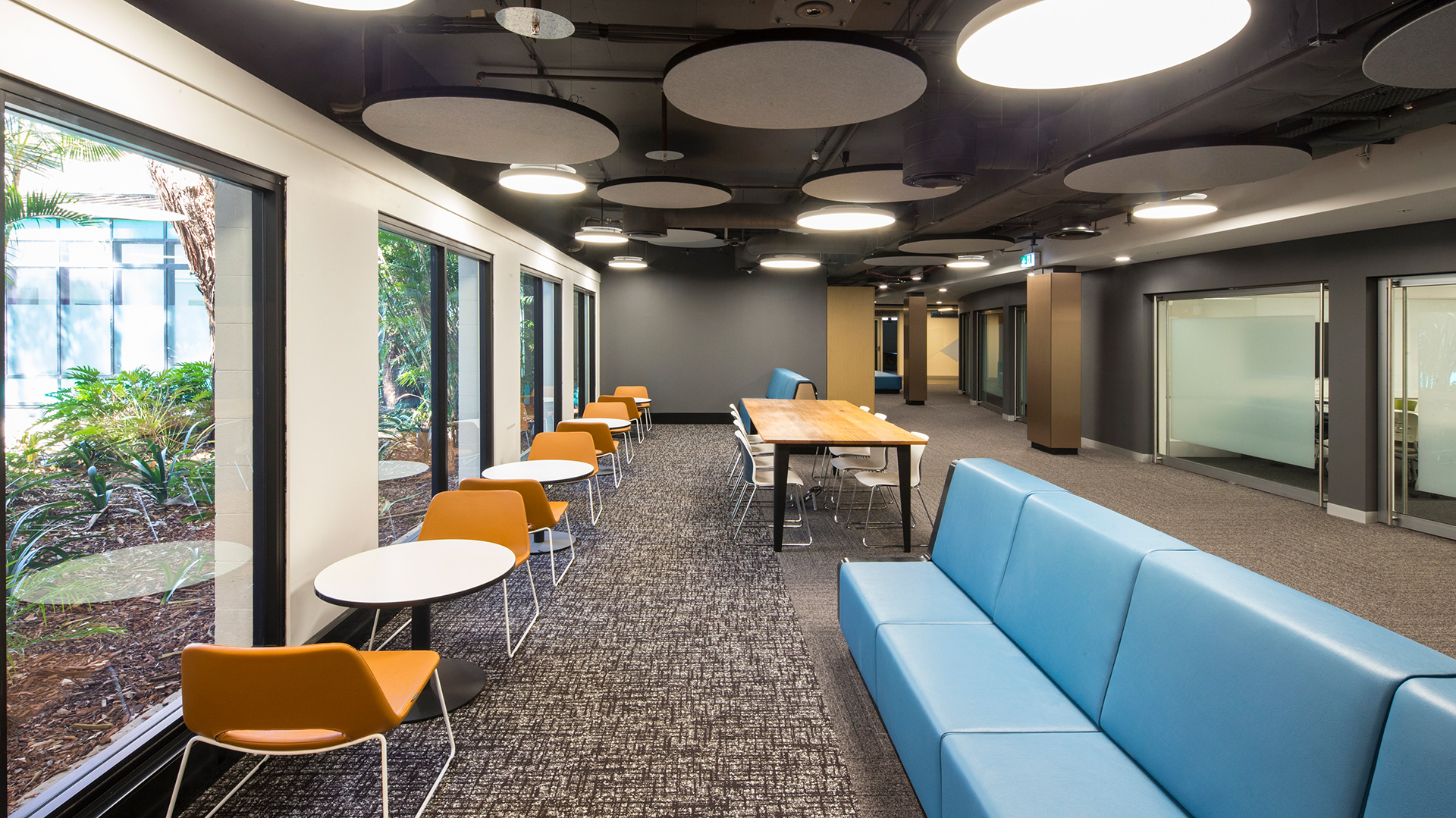 UNSW Mathews L1 CATS Student Meeting and Breakout Space Interior Design – Gardner Wetherill GW 3
