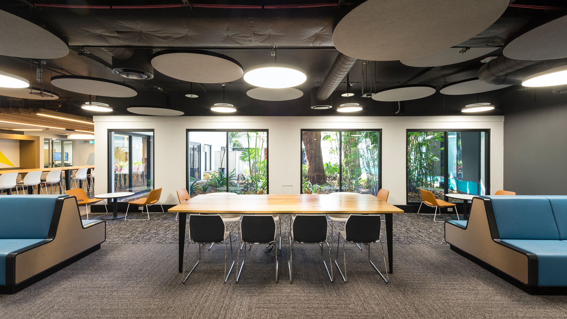 UNSW Mathews L1 CATS Student Study and Meeting Space Interior Design – Gardner Wetherill GW 2