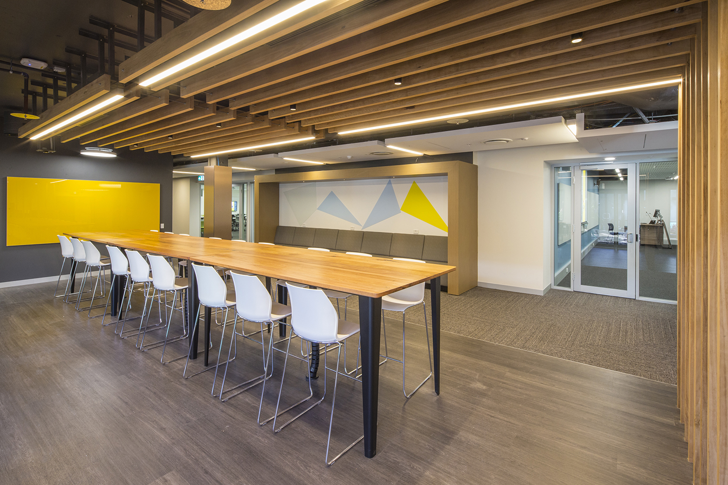 UNSW Mathews L1 CATS Student Study and Meeting Space Interior Design – Gardner Wetherill GW 4