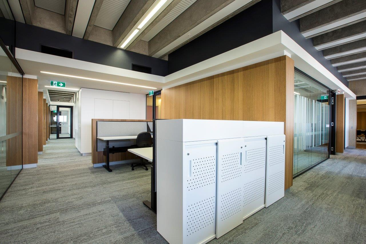 UTS Building 1 Level 18 Office and Workplace Interior Architecture – Gardner Wetherill GW 1