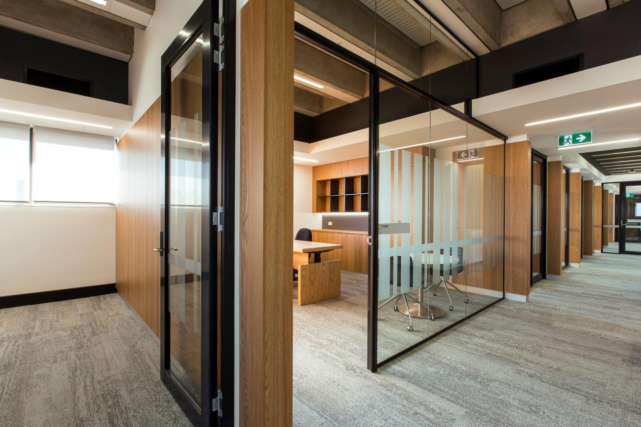 UTS Building 1 Level 18 Office and Workplace Interior Architecture – Meeting Rooms – Gardner Wetherill GW 2