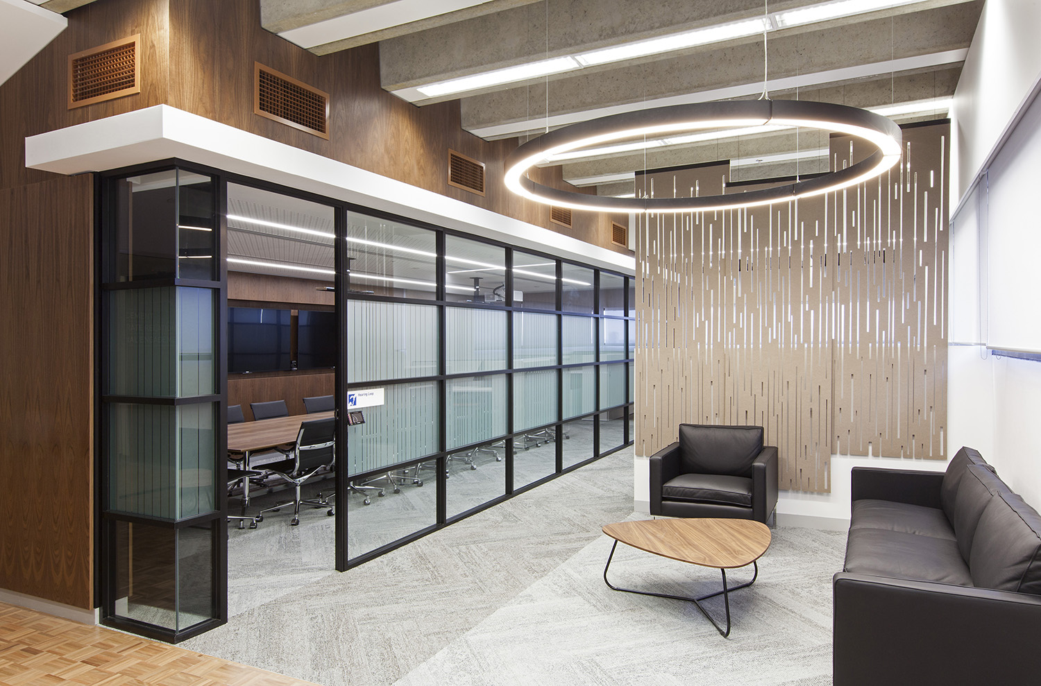 UTS Building 1 Levels 20 & 21 Office and Workplace Entry Foyer and Waiting Area Interior Design – Gardner Wetherill GW 2