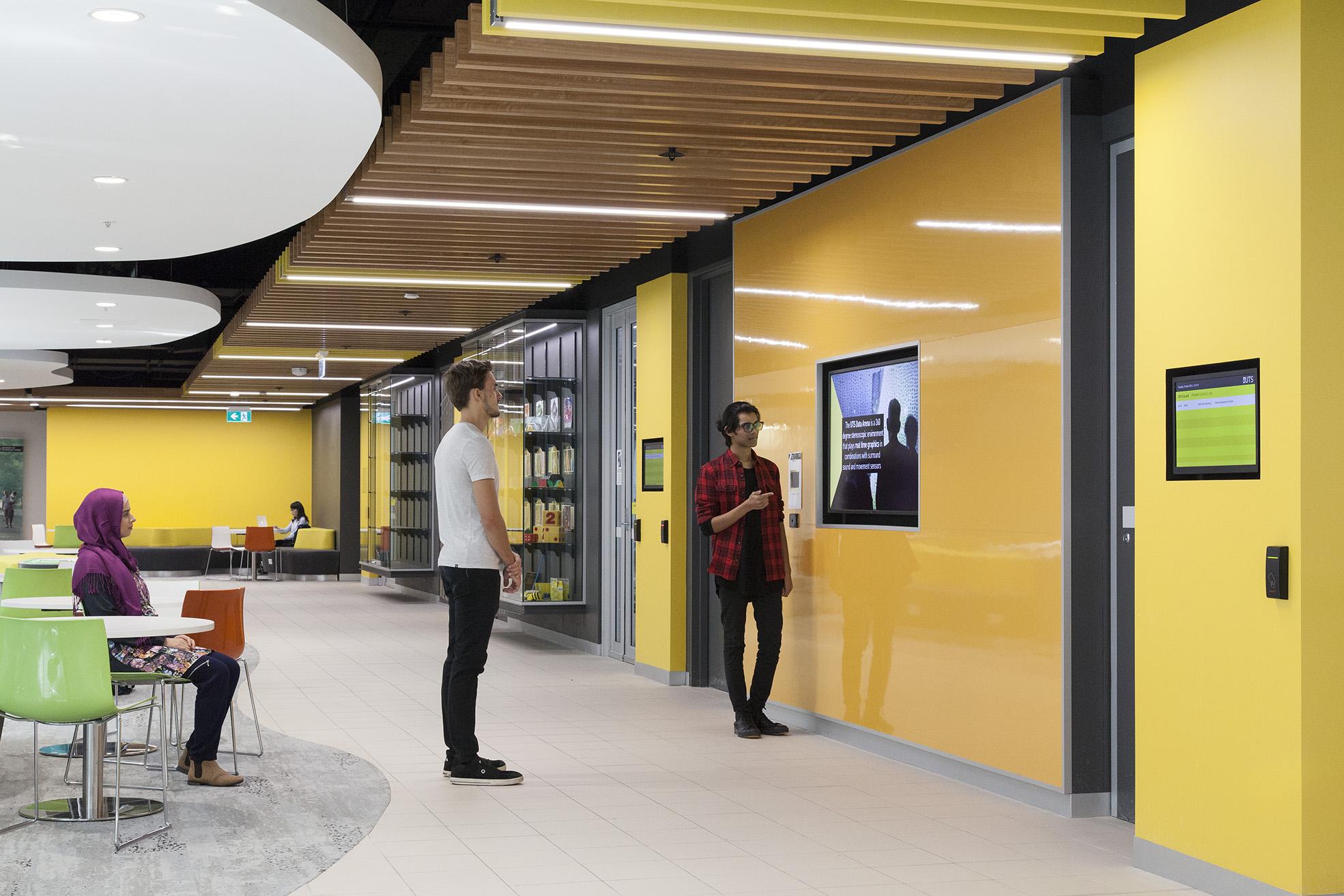 UTS Building 10 FASS & FoH Lobby – Gardner Wetherill GW 2