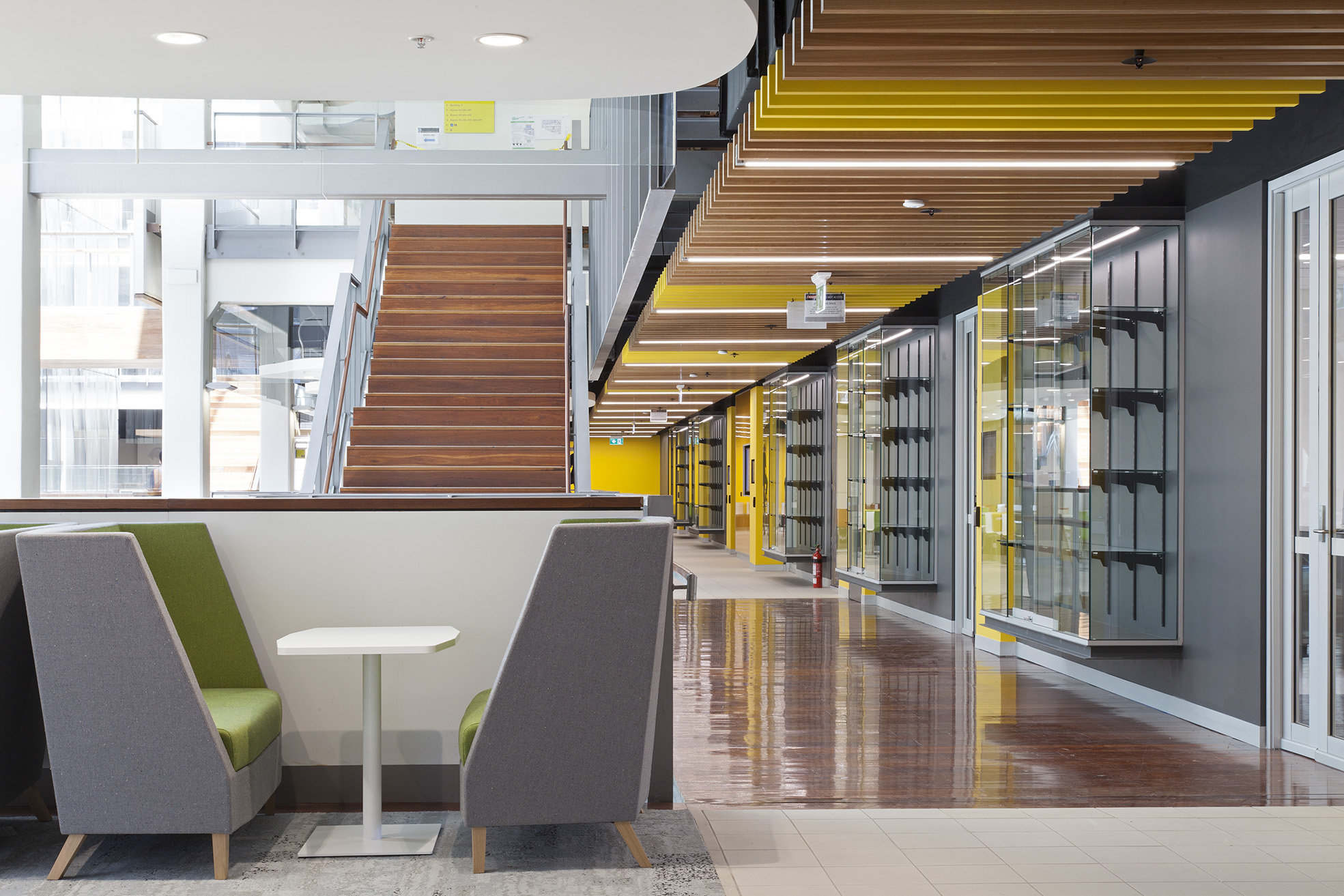 UTS Building 10 FASS & FoH Lobby and Casual Meeting Space Interior Design – Gardner Wetherill GW 1