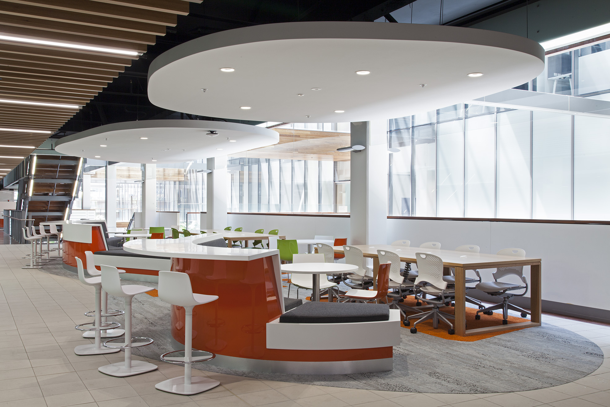 UTS Building 10 FASS & FoH Student Study Area and Meeting Space Interior Design – Gardner Wetherill GW 3