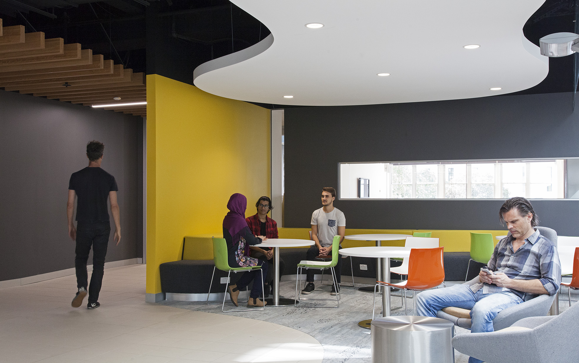 UTS Building 10 FASS & FoH Study and Meeting Space Interior Architecture – Gardner Wetherill GW 5