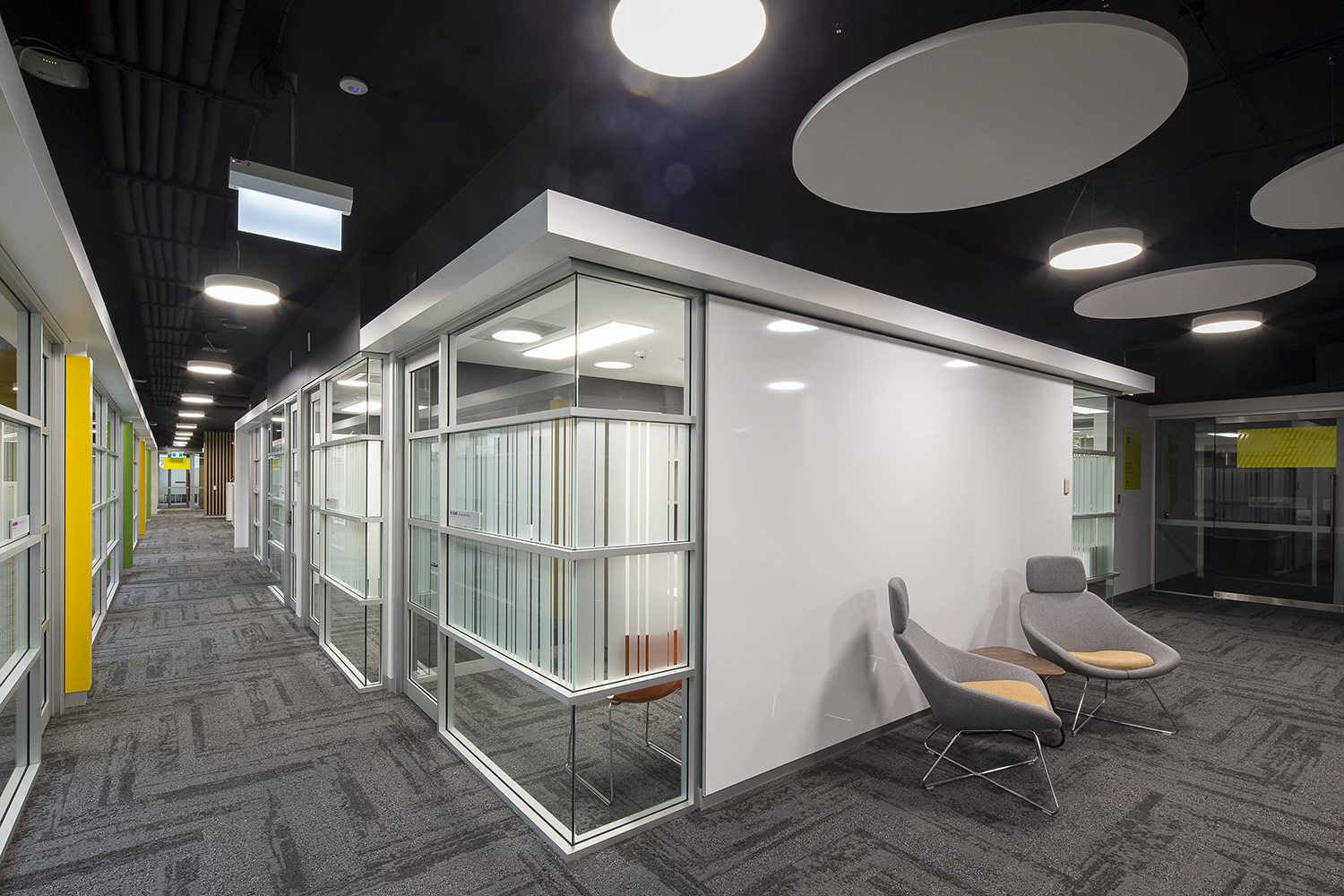 UTS Building 5 DAB Workpalce Hallway and Meeting Rooms – Gardner Wetherill GW 3
