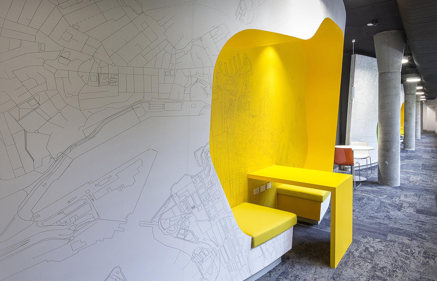 UTS Building 5 DAB Workplace Casual Meeting Area – Gardner Wetherill GW 2