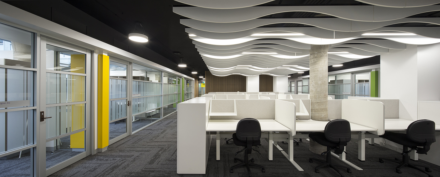 UTS Building 5 DAB Workplace Design Desk Cubicles – Gardner Wetherill GW 1