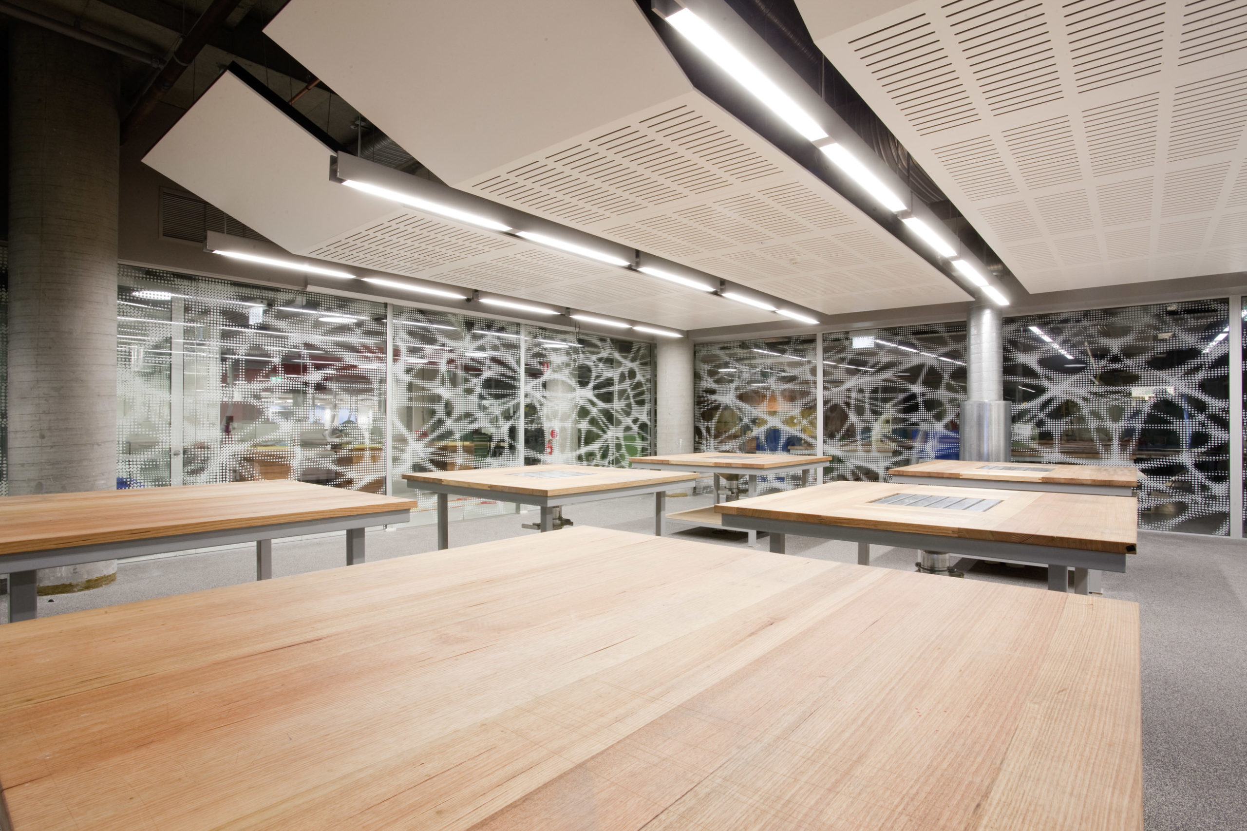 UTS Building 6 DAB Fabrication and Photographic Studio Fabrication Classroom Architecture – Gardner Wetherill GW 2