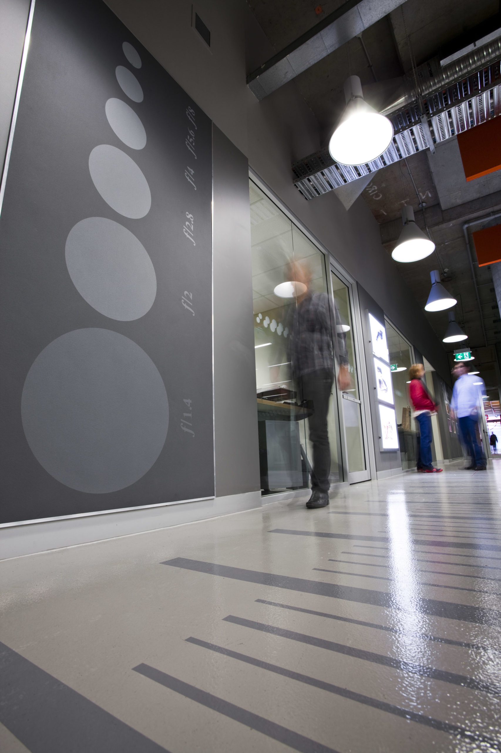 UTS Building 6 DAB Fabrication and Photographic Studio Hallway – Gardner Wetherill GW 6