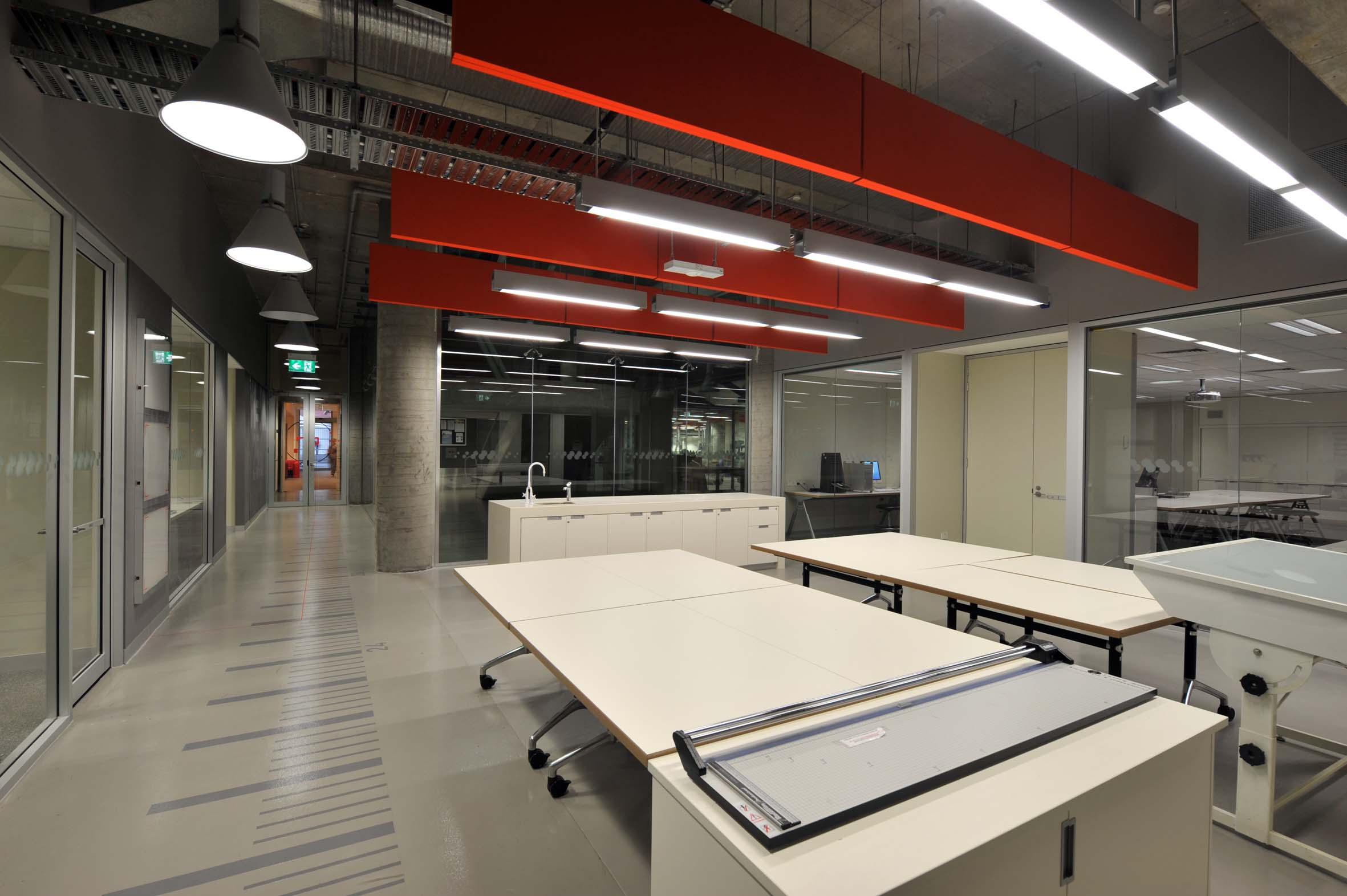 UTS Building 6 DAB Fabrication and Photographic Studio Interior Architecture – Gardner Wetherill GW 1