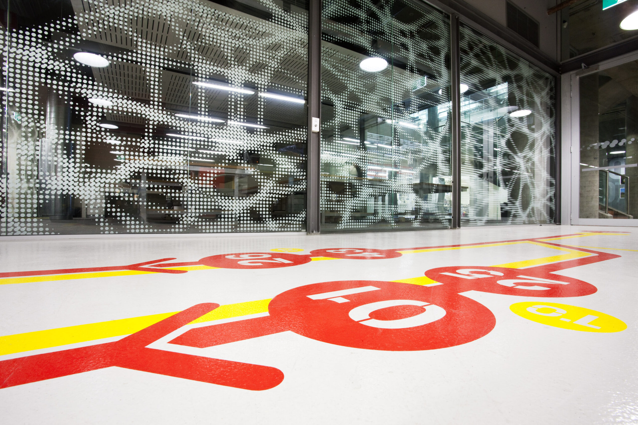 UTS Building 6 DAB Fabrication and Photographic Studio Interior Design Floor Detail – Gardner Wetherill GW 5