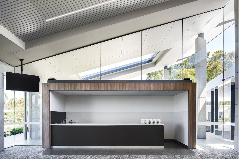 Wallumatta Function Centre Macquarie Park Cemetery Function Servery Interior Design – Gardner Wetherill GW 5