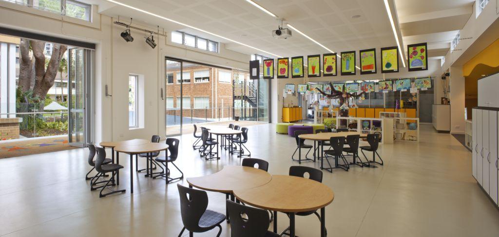 Wenona Woodstock Infants School Classroom Interior Design – Gardner Wetherill GW 5
