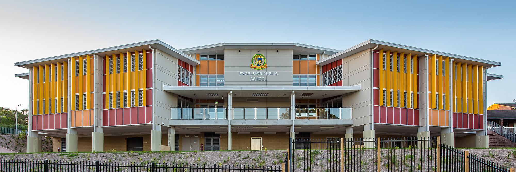 Excelsior Public School Architecture Exterior – Gardner Wetherill GW 4