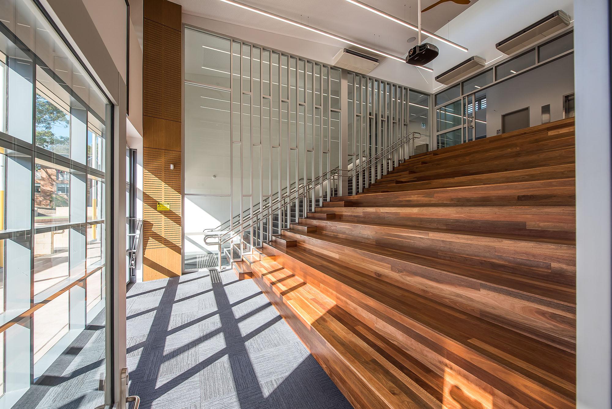Excelsior Public School Architecture Interior Auditorium – Gardner Wetherill GW 7