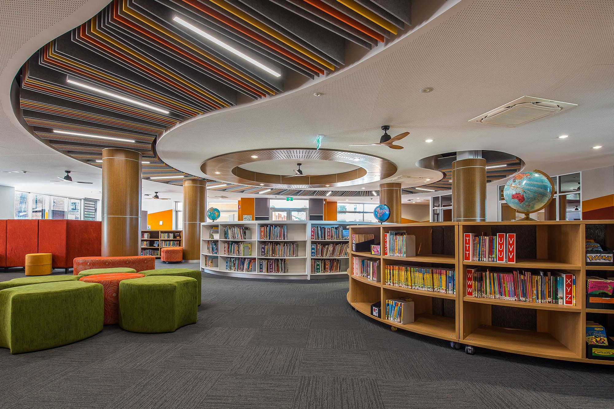 Excelsior Public School Architecture Interior View – Gardner Wetherill GW 5