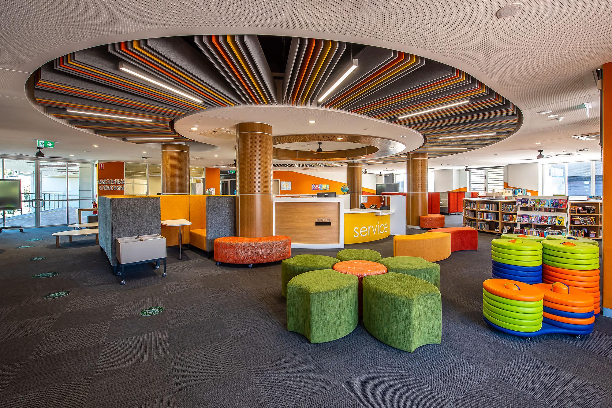 Excelsior Public School Architecture Interior View – Gardner Wetherill GW 6