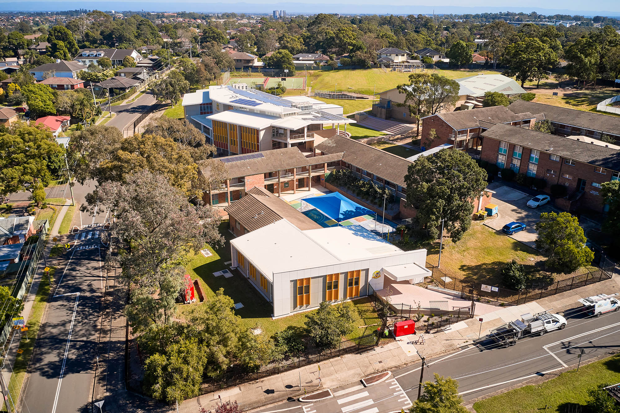 Excelsior Public School Architecture Overview Shot – Gardner Wetherill GW 8