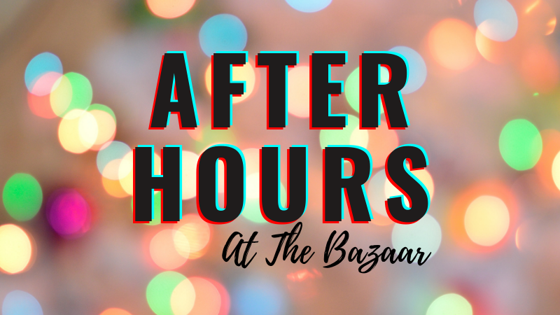 After hours at the Bazaar on Apricot & Lime