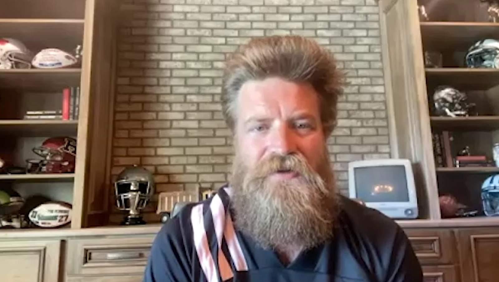 The Best NFL Quarantine Beard Belongs to..