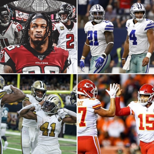 Four Best Fantasy Football Offenses in 2020